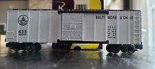 K-Line S Scale K511-009 Baltimore & Ohio BOX CAR Estate Sale Lots 55, 56