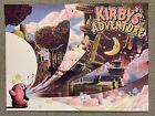 Kirby's Adventure Nes Nintendo Video Game Art Print Poster Mondo Bailey Race