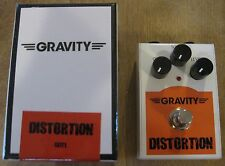 New Gravity GDT1 Distortion Guitar Effects Pedal + Bonus Tin of Guitar Picks