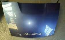 Porsche Boxster 986 Boot lid in Zenith blue