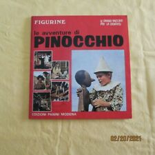 ALBUM FIGURINE PANINI LE AVVENTURE DI PINOCCHIO (1972)  NO EDIS,NO FLASH,NO VAV