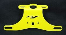 Yamaha 02-03 R1 Yellow NTS Fender Eliminator Tail Tidy / Plate Bracket 2002 2003