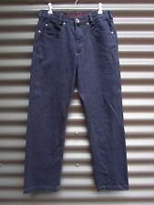 Joker Men's Blue Jeans Double Saddle Stitch Size 33 - 30 Measured Waist 32