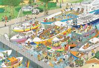 NEW! Jumbo The Locks by Jan van Haasteren 1000 piece comic jigsaw puzzle 19067