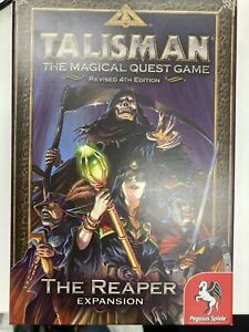 Talisman Revised 4th Edition THE REAPER Expansion - Missing Reaper Figure