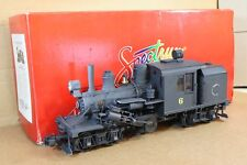 BACHMANN SPECTRUM G GAUGE WEATHERED 0-4-4-0 TWO TRUCK CLIMAX LOCOMOTIVE 6 np