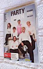 Party Down : Season 1 (DVD, 2010, 2-Disc Set) R-4, LIKE NEW, FREE POST AUS-WIDE