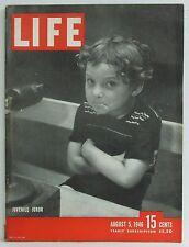 Juvenile Juror Life Magazine Glen Mark Arthurs Night and Day August 5 1946 RARE!