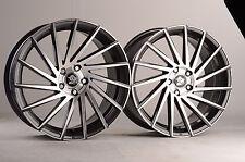 19 Zoll UA9 Alu Felgen 5x120 grau für BMW X3 e83 F25 X4 F26 Z3 Z4 M 6er F12