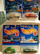 Hot Wheels 4 Vintage Collectables