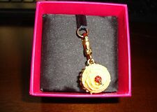 NEW JUICY COUTURE YELLOW CUPCAKE CHARM FOR BRACELET NECKLACE BAG  KEYCHAIN
