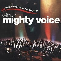 GAY MEN'S CHORUS OF LOS ANGELES WITH A MIGHTY VOICE CD BRAND NEW SEALED