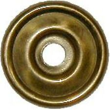 FURNITURE REPAIR STAMPED BRASS KNOB BACKPLATE  B0447