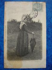 LUSIGNAN et VIVONNE  ( Vienne ).  Costume de Villageoise......VO.1905.