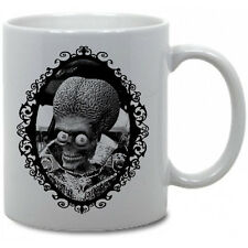 MARS ATTACKS COFFEE MUG!! tim burton horror movie aliens sci fi comedy space vtg