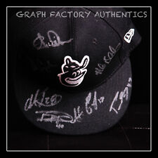 **GFA Team Signed *2013 BALTIMORE ORIOLES* Signed Fitted Hat PROOF COA**