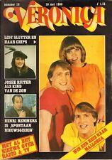 VERONICA 1980 nr. 19 - CHIPS / JOSEE RUITER / ILONA VISSER / HENRI REMMERS/GUUST