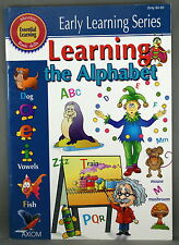LEARNING THE ALPHABET * PAPERBACK *  EARLY LEARNING SERIES * AXIOM * FREE POST