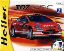 Heller - PEUGEOT 307wrc 307 WRC Inkl Colors KLEBER 1 43