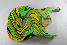 Multicolor Swirled body fits Ibanez (tm) RG and Jem Necks P672