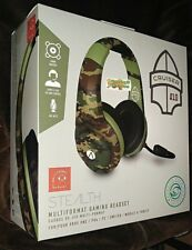 XP-Cruiser Stereo Gaming Headset GREEN Camo Playstation 4 Xbox One Switch PC NEW