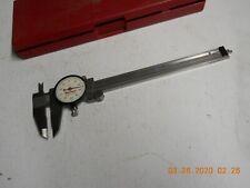 MITUTOYO 505-744 Dial Caliper,6In,0.200//Rev,Carbide