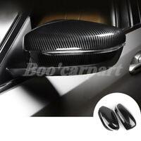 Für BMW 7 Series G11 G12 ABS Karbonfaser-Stil Spiegelkappen Außenspiegel Rahmen