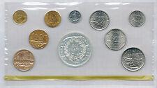 FRANCE - COFFRET FDC en BU de 1980 de 1 centime à 50 francs ( 10 monnaies )