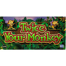 IGT I Game Plus 17 Belly Glass, Twice Your Monkey (893-616-00)