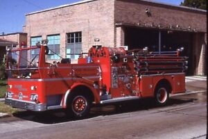New Orleans LA Engine 51 1964 Ward LaFrance Pumper - Fire Apparatus Slide