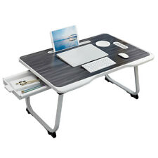Portable Foldable Laptop Notebook Table Adjustable Stand Bed Tray computer Desk