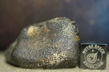NWA Unclassified Meteorite 23g individual with desert polished exterior nice!