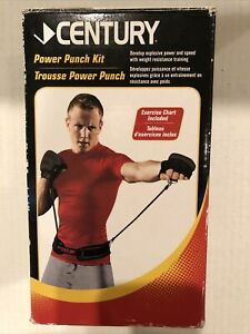 Century Power Punch Resistance Belt-Boxing Training-Nice Condition