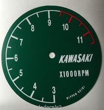 KAWASAKI H1R 500 H1R-W H2R 750 KR750 RESTAURIERUNG AUFKLEBER TACHOMETER UHR