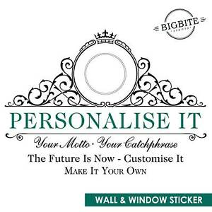 Customise your Wall & Window decal ,Wall window art film stickers Personalized