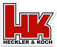 HK HECKLER & KOCH DIE-CUT STICKER