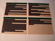 LAND ROVER DISCOVERY PARTS MICROFICHE FULL SET 0F 4 DECEMBER 1992 RTC9947FN