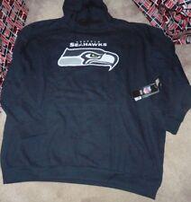 NEW NFL Seattle Seahawks Hoodie Hooded Sweatshirt Men 5XL XXXXXL BIG NEW NWT