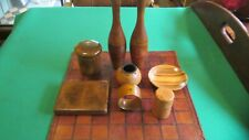 Antique Job Lot - Antiques and Oddities - Wood,Leather, Misc.