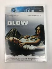BLOW ~ DVD, 2001 ~ Johnny Depp & Penelope Cruz ~ Rated R - FSTSHP