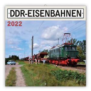 Trötsch Broschürenkalender DDR-Eisenbahn 2022