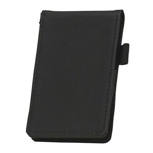 Samsill Mini Pocket Notepad Holder, Includes Pad with 40 Lined Sheets, Refill