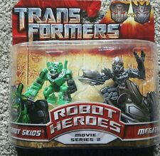 Transformers Revenge Of The Fallen - Movie Series 2 Autobot Skids & Megatron