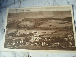 Weitnau Bayr. Allgäu 1930 Eugen Felle Karte von Gasthaus Krone