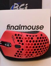 CYBER MONDAY SALE!! B4 XMAS! Finalmouse Air58 Ninja Gaming Mouse-CherryRed w/Box