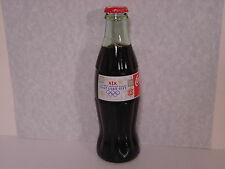 2002 Winter Olympics Coca Cola Bottle Collectible, XIX Olympic Logo Bottle