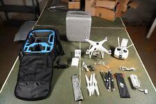 DJI Phantom 4 Drone with LOTS of extras - original box, extra softcase, props!