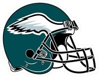 Philadelphia Eagles Helmet Decal ~ Car / Truck Vinyl Sticker - Wall Graphics