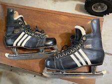 Vintage 70s Adidas Professional Ice Skates size 12 Nhl Yugoslavia