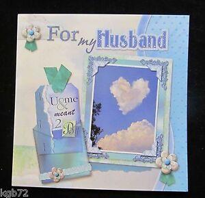 Leanin Tree Valentine Card Valentine's Day Husband Scrapbook Romance Love V43